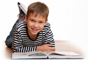 Child with reading problems